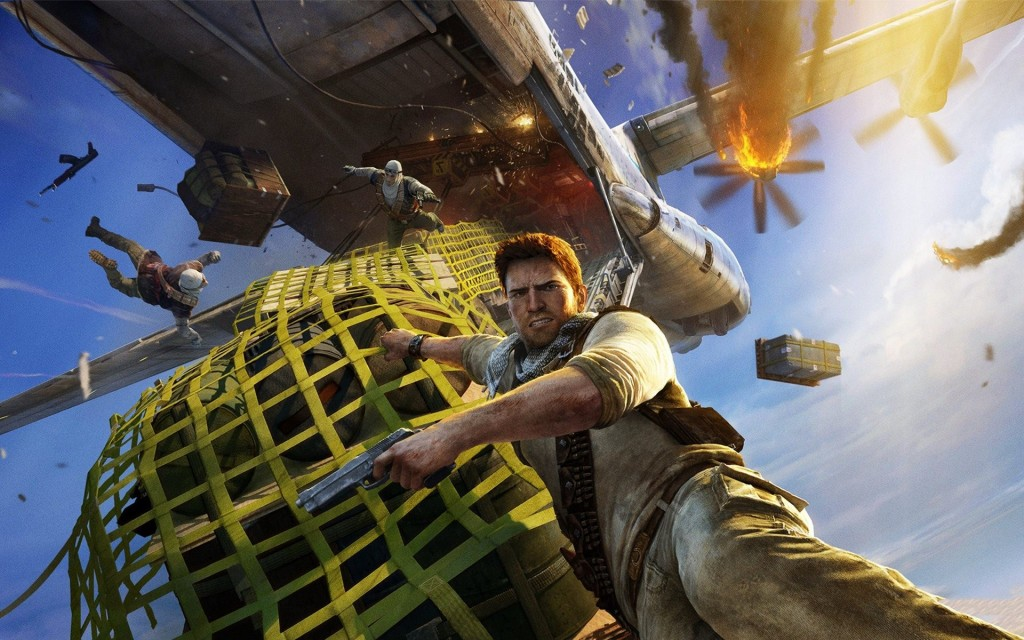 Uncharted 3 Gameplay Wallpaper